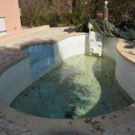 Rénovation d'une piscine Desjoyaux - Etat des lieux